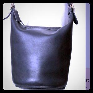 Large coach Bucket Bag